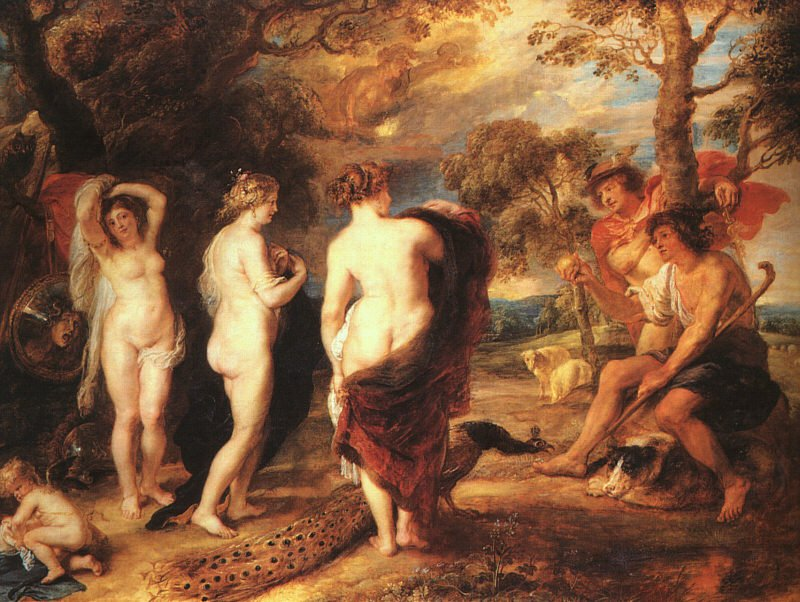 The Judgment of Paris c 1636 | Peter Paul Rubens | oil painting