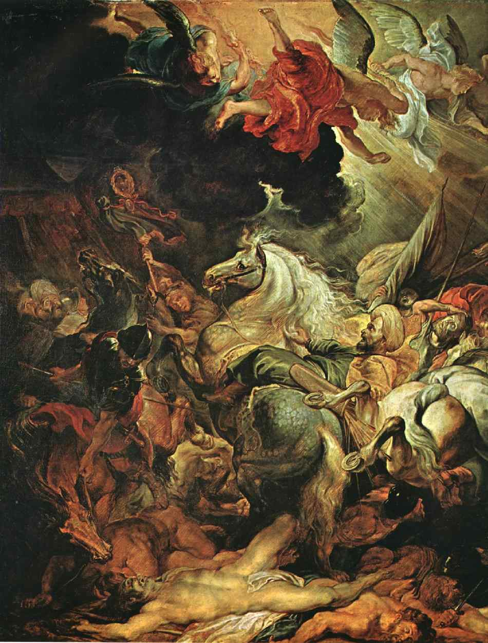 The Defeat of Sannacherib | Peter Paul Rubens | oil painting