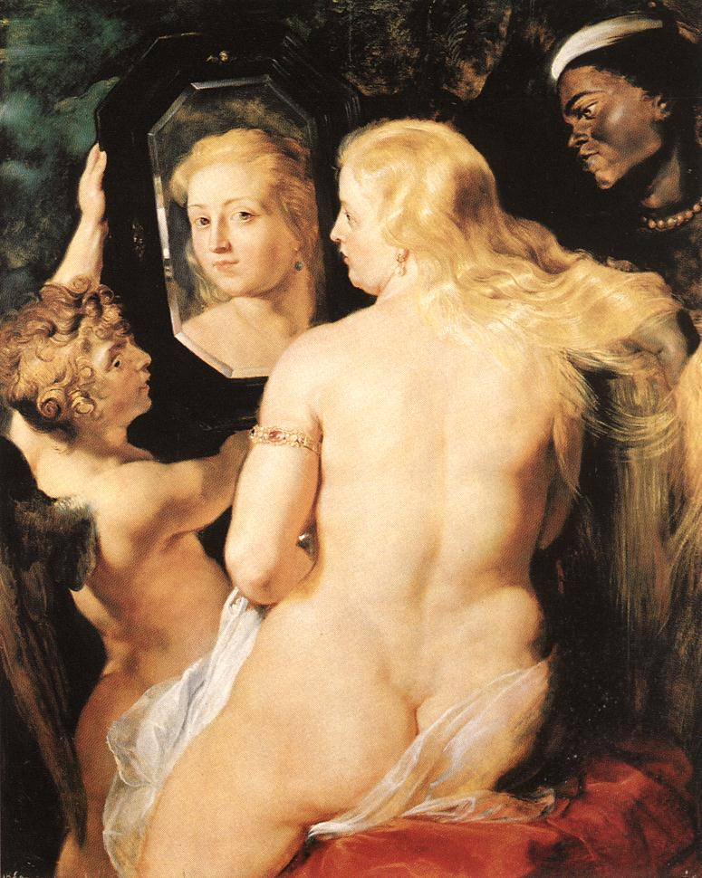 Venus at a mirror ca 615 | Peter Paul Rubens | oil painting