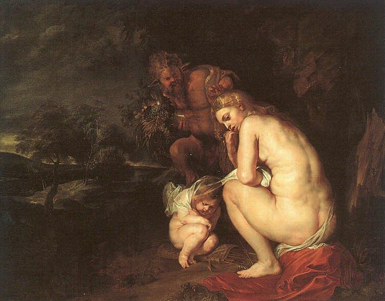 Venus Frigida 1614 | Peter Paul Rubens | oil painting