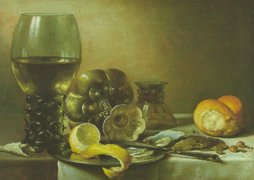Still Life 1633 | Pieter Claesz | oil painting