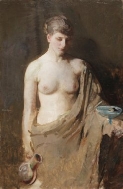 Hebe | Abbott Handerson Thayer | oil painting