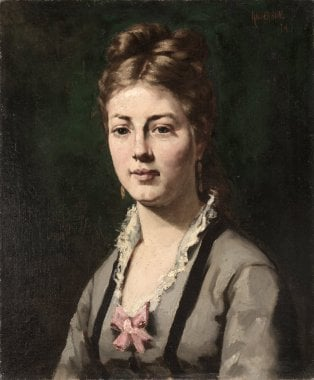 Portrait of a Woman | Abraham Archibald Anderson | oil painting