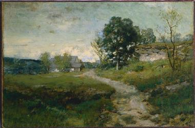 Arkville Landscape | Alexander H Wyant | oil painting