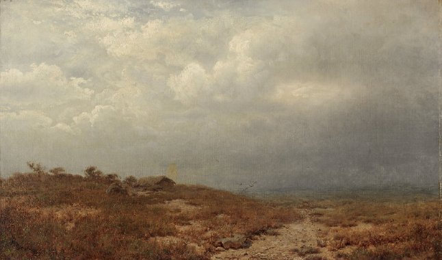 Irish Landscape | Alexander H Wyant | oil painting