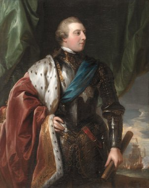 George III | Benjamin West | oil painting