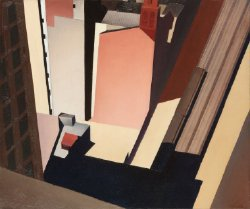 Church Street El | Charles Sheeler | oil painting