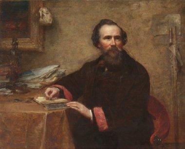 Genio C Scott | Eastman Johnson | oil painting