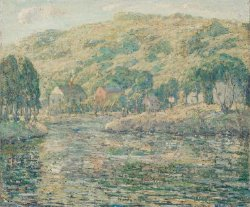 Early Spring | Ernest Lawson | oil painting