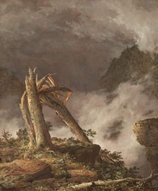 Storm in the Mountains | Frederic Edwin Church | oil painting