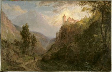 The Monastery of San Pedro Our Lady of the Snows | Frederic Edwin Church | oil painting