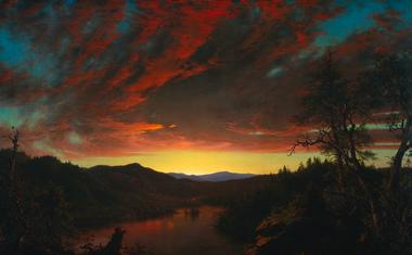 Twilight in the Wilderness | Frederic Edwin Church | oil painting