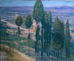 The Umbrian Valley Italy | Frederick C Gottwald | oil painting