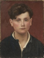 Head of a Boy | George De Forest Brush | oil painting