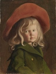 The Little Cavalier | George De Forest Brush | oil painting