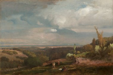 Approaching Storm from the Alban Hills | George Inness | oil painting