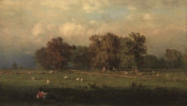 Durham Connecticut | George Inness | oil painting
