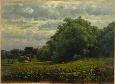 Harvest Time | George Inness | oil painting