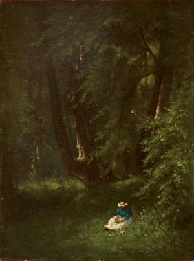 In the Woods | George Inness | oil painting