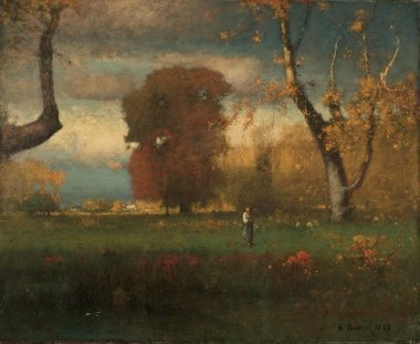 Landscape | George Inness | oil painting