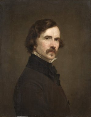Self Portrait | George Peter Alexander Healy | oil painting