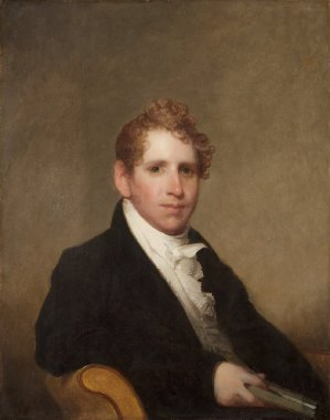 Dr James Stuart | Gilbert Stuart | oil painting