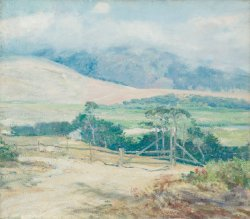 Carmel Hills | Guy Rose | oil painting