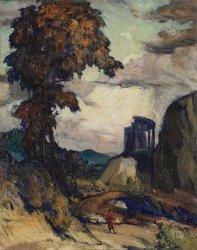Spell of Italy | Henry G Keller | oil painting