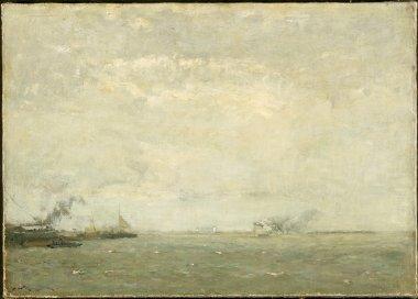 Seascape | Henry Ward Ranger | oil painting