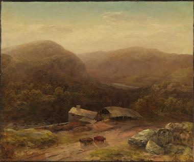 In the Housatonic Valley | Homer Dodge Martin | oil painting