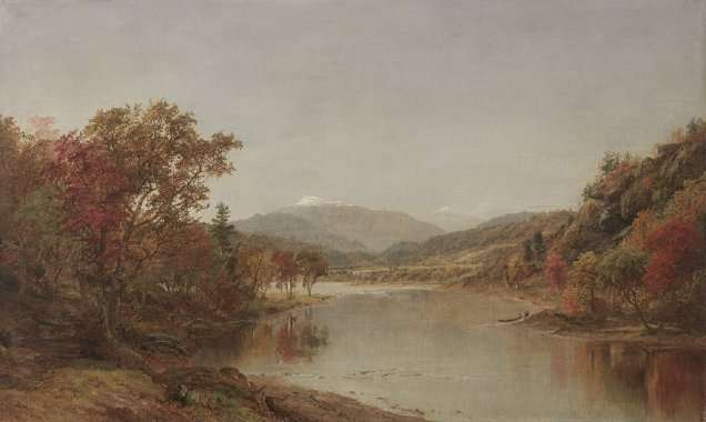 Mount Washington New Hampshire | Jasper F Cropsey | oil painting