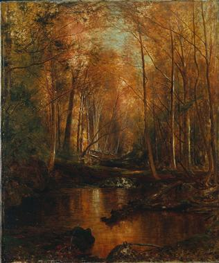 Autumn in the Catskills | Jervis McEntee | oil painting