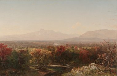 An October Day in the White Mountains | John Frederick Kensett | oil painting