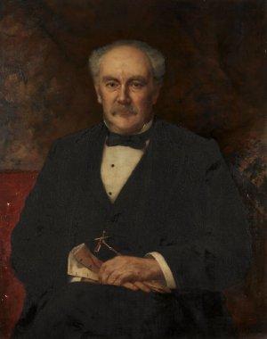 Hinman B Hurlbut | John Harrison Witt | oil painting