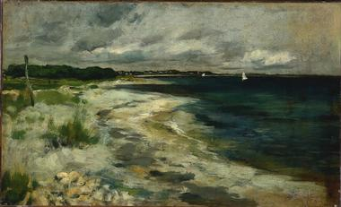 Storm Clouds | John Henry Twachtman | oil painting