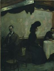 The Rathskeller | John Sloan | oil painting