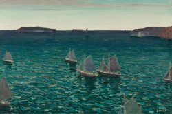 Out to Sea | Jonas Lie | oil painting