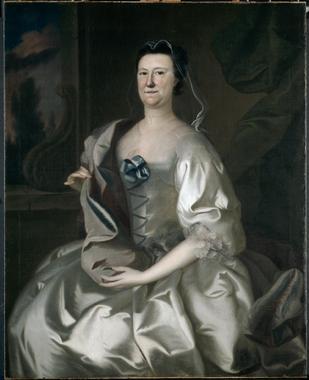 Mrs Theodore Atkinson | Joseph Blackburn | oil painting