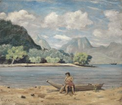 Samoa | Louis Michel Eilshemius | oil painting