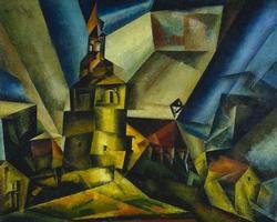 Markwippach | Lyonel Feininger | oil painting