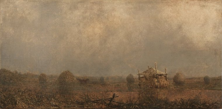 High Tide on the Marshes | Martin Johnson Heade | oil painting