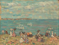 St Malo | Maurice Prendergast | oil painting