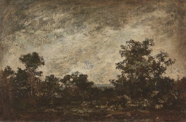 Indian Camp | Ralph A Blakelock | oil painting