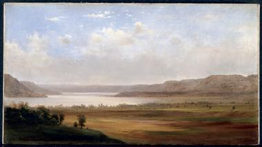 View of Lake Pepin Minnesota | Robert S Duncanson | oil painting