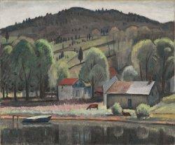 Eddyville | Samuel Halpert | oil painting