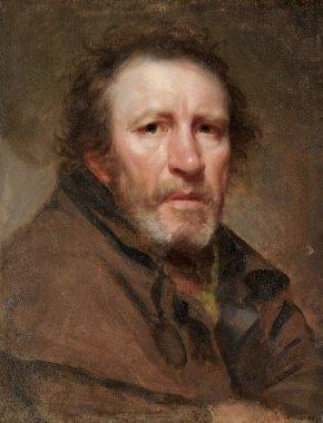 Old Pat The Independent Beggar | Samuel Lovett Waldo | oil painting