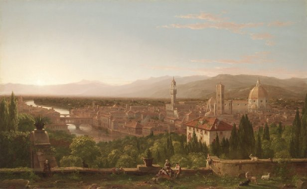 View of Florence | Thomas Cole | oil painting