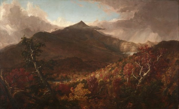 View of Schroon Mountain Essex County New York After a Storm | Thomas Cole | oil painting