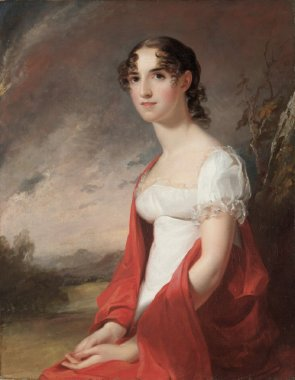 Lieutenant Jean Terford David | Thomas Sully | oil painting