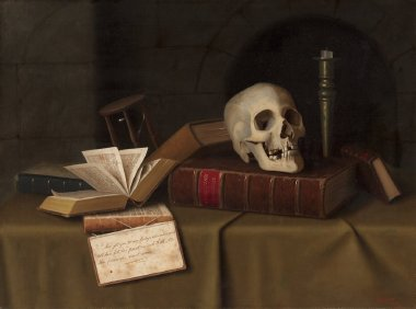 Memento Mori To This Favour | William Harnett | oil painting